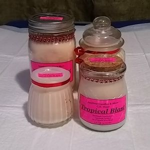 4 piece Candle gift set